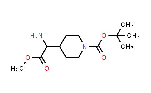 Methyl 2-Amino-2-(1-Boc-4-piperidyl)acetate