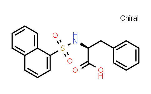 (S)-2-(Naphthalene-1-sulfonamido)-3-phenylpropanoic acid