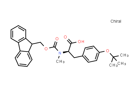 (R)-2-((((9H-Fluoren-9-yl)methoxy)carbonyl)(methyl)amino)-3-(4-(tert-butoxy)phenyl)propanoic acid