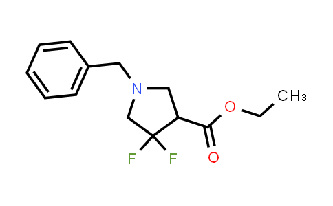 Ethyl 1-benzyl-4,4-difluoropyrrolidine-3-carboxylate