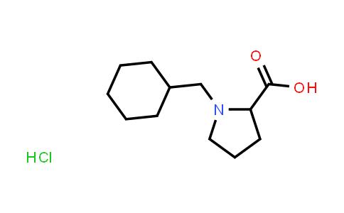 1-(Cyclohexylmethyl)pyrrolidine-2-carboxylic acid hydrochloride
