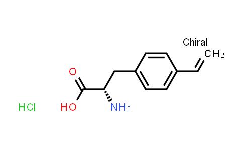 (S)-2-Amino-3-(4-vinylphenyl)propanoic acid hydrochloride