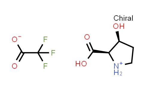 (2R,3S)-2-Carboxy-3-hydroxypyrrolidin-1-ium 2,2,2-trifluoroacetate
