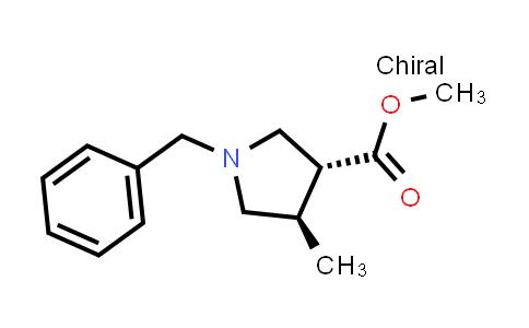 Methyl (3R,4R)-1-benzyl-4-methylpyrrolidine-3-carboxylate