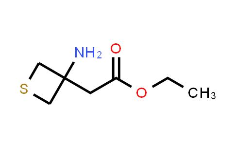 Ethyl 2-(3-aminothietan-3-yl)acetate