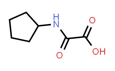 2-(Cyclopentylamino)-2-oxoacetic acid