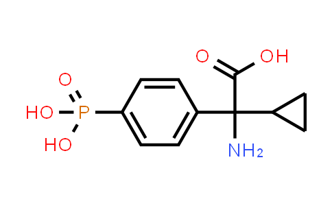 2-Amino-2-cyclopropyl-2-(4-phosphonophenyl)acetic acid