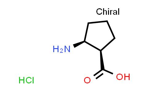 (1R,2S)-rel-2-Aminocyclopentanecarboxylic acid hydrochloride