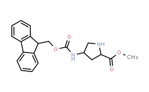 Methyl 4-((((9H-fluoren-9-yl)methoxy)carbonyl)amino)pyrrolidine-2-carboxylate