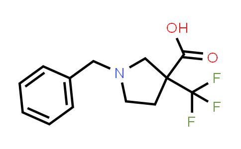 1-Benzyl-3-(trifluoromethyl)pyrrolidine-3-carboxylic acid