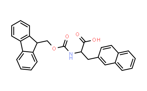 2-((((9H-Fluoren-9-yl)methoxy)carbonyl)amino)-3-(naphthalen-2-yl)propanoic acid