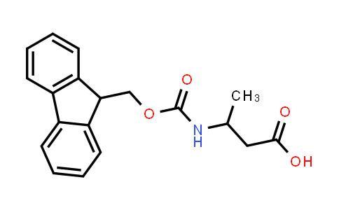 3-((((9H-Fluoren-9-yl)methoxy)carbonyl)amino)butanoic acid