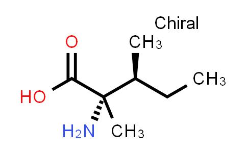 (2S,3S)-2-Amino-2,3-dimethylpentanoic acid