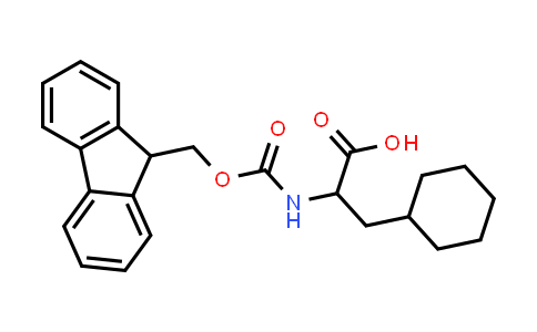 2-((((9H-Fluoren-9-yl)methoxy)carbonyl)amino)-3-cyclohexylpropanoic acid
