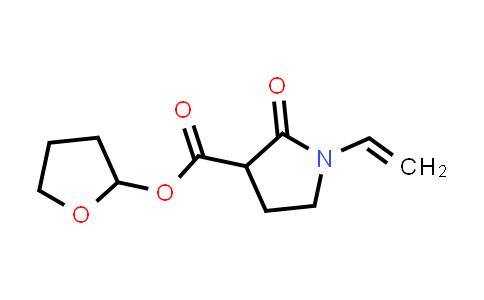 Tetrahydrofuran-2-yl 2-oxo-1-vinylpyrrolidine-3-carboxylate