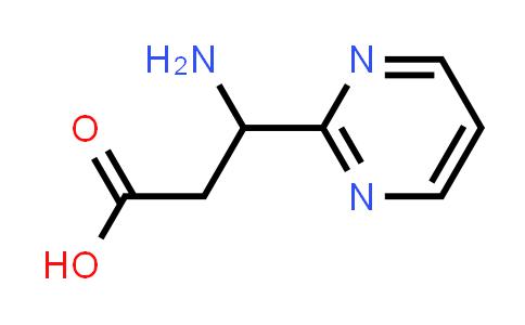 3-Amino-3-(pyrimidin-2-yl)propanoic acid