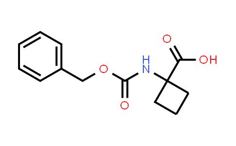 1-(((Benzyloxy)carbonyl)amino)cyclobutanecarboxylic acid