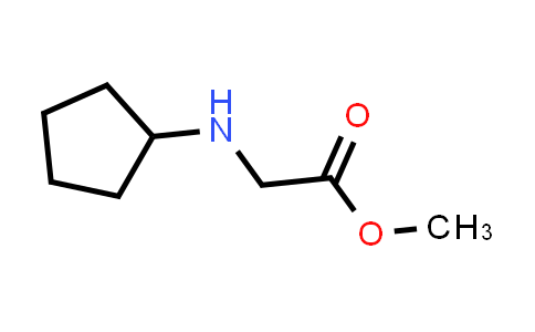 Methyl 2-(cyclopentylamino)acetate