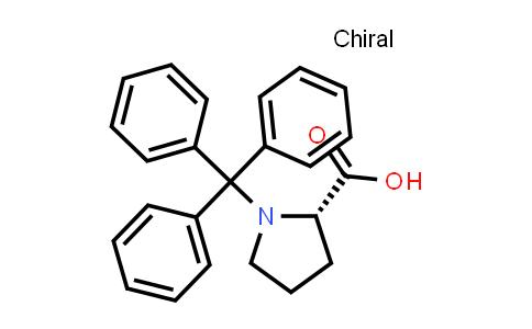 (S)-1-Tritylpyrrolidine-2-carboxylic acid