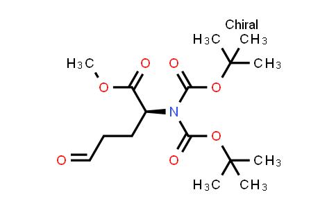 (S)-Methyl 2-(bis(tert-butoxycarbonyl)amino)-5-oxopentanoate
