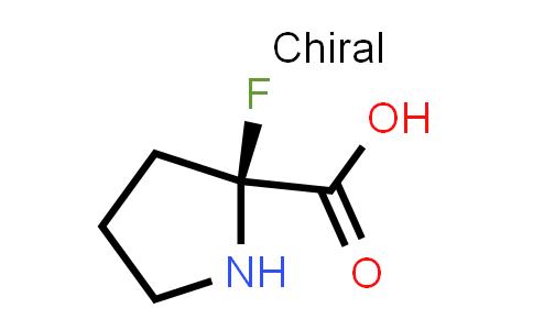 (S)-2-Fluoropyrrolidine-2-carboxylic acid