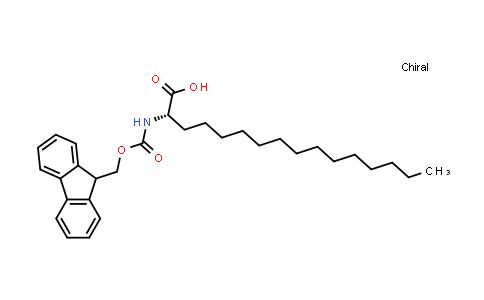 (S)-2-((((9H-Fluoren-9-yl)methoxy)carbonyl)amino)hexadecanoic acid