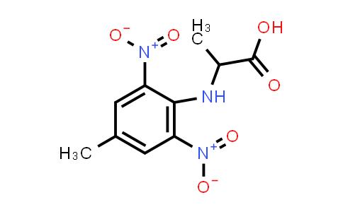2-((4-Methyl-2,6-dinitrophenyl)amino)propanoic acid