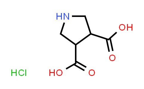 Pyrrolidine-3,4-dicarboxylic acid hydrochloride