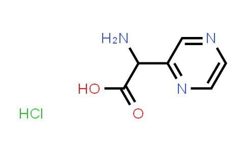 2-Amino-2-(pyrazin-2-yl)acetic acid hydrochloride