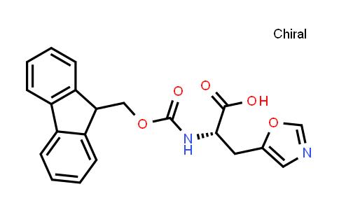 (S)-2-((((9H-Fluoren-9-yl)methoxy)carbonyl)amino)-3-(oxazol-5-yl)propanoic acid