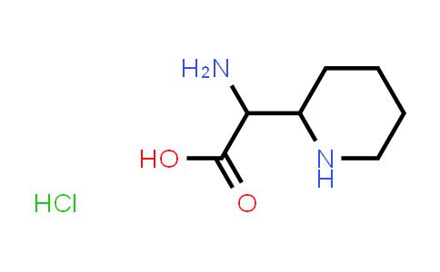 2-Amino-2-(piperidin-2-yl)acetic acid hydrochloride