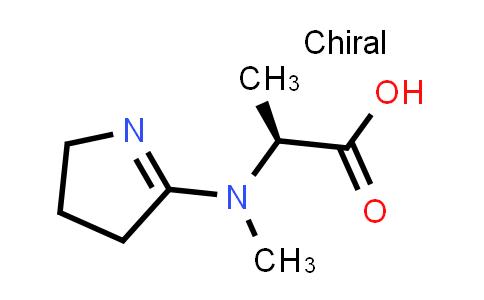 (S)-2-((3,4-Dihydro-2H-pyrrol-5-yl)(methyl)amino)propanoic acid