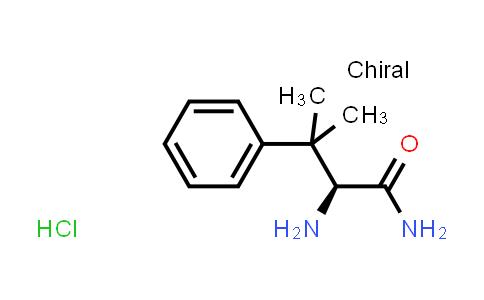 (S)-2-Amino-3-methyl-3-phenylbutanamide hydrochloride