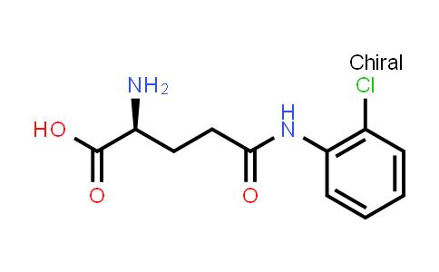 (S)-2-Amino-5-((2-chlorophenyl)amino)-5-oxopentanoic acid