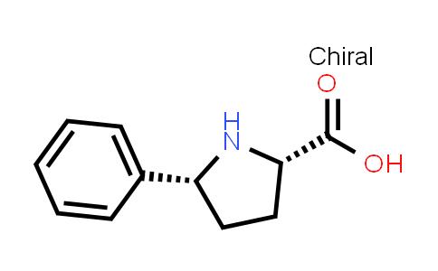 (2S,5R)-5-Phenylpyrrolidine-2-carboxylic acid