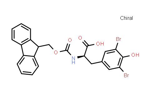 (R)-2-((((9H-Fluoren-9-yl)methoxy)carbonyl)amino)-3-(3,5-dibromo-4-hydroxyphenyl)propanoic acid