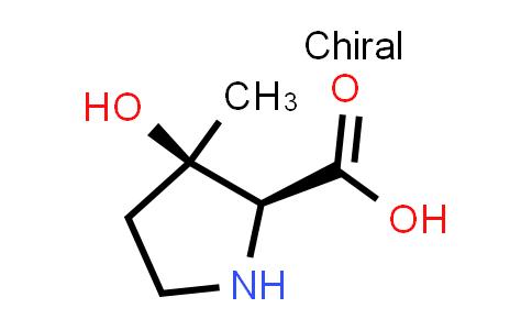 (2S,3R)-3-Hydroxy-3-methylpyrrolidine-2-carboxylic acid
