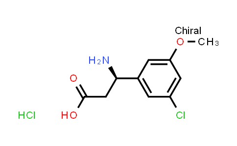 (R)-3-Amino-3-(3-chloro-5-methoxyphenyl)propanoic acid hydrochloride