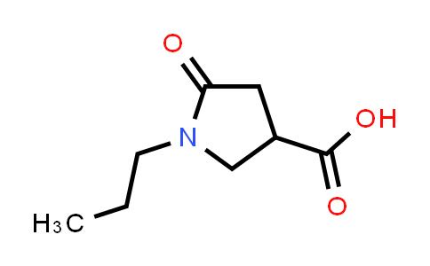 5-Oxo-1-propylpyrrolidine-3-carboxylic acid