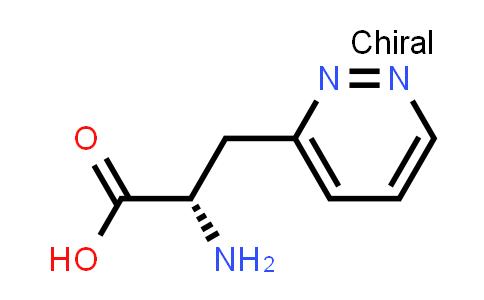 (S)-2-Amino-3-(pyridazin-3-yl)propanoic acid