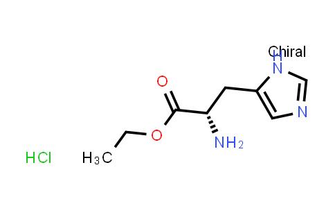 (S)-Ethyl 2-amino-3-(1H-imidazol-5-yl)propanoate hydrochloride