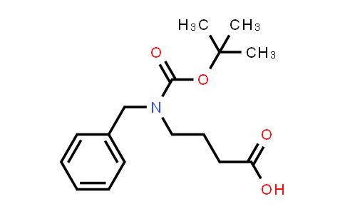 4-(Benzyl(tert-butoxycarbonyl)amino)butanoic acid