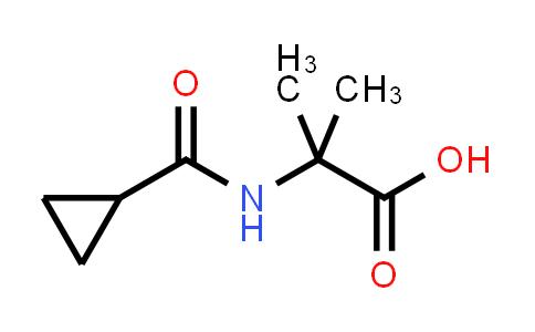 2-(Cyclopropanecarboxamido)-2-methylpropanoic acid