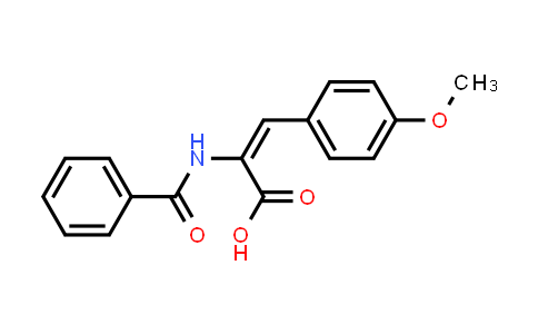 2-Benzamido-3-(4-methoxyphenyl)acrylic acid