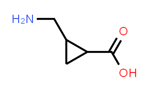 2-(Aminomethyl)cyclopropanecarboxylic acid