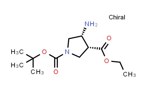 (3R,4R)-1-tert-Butyl 3-ethyl 4-aminopyrrolidine-1,3-dicarboxylate