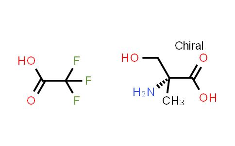 (R)-2-Amino-3-hydroxy-2-methylpropanoic acid 2,2,2-trifluoroacetic acid salt