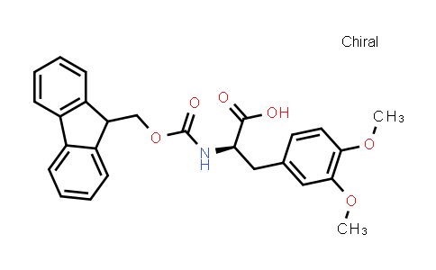 (R)-2-((((9H-Fluoren-9-yl)methoxy)carbonyl)amino)-3-(3,4-dimethoxyphenyl)propanoic acid