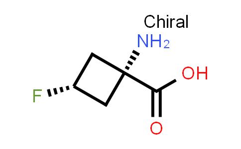 trans-1-Amino-3-fluorocyclobutanecarboxylic acid