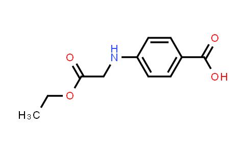 4-((2-Ethoxy-2-oxoethyl)amino)benzoic acid